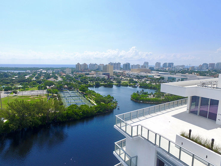 First Luxury Condominium On Fort Lauderdale's Middle River Launches New Penthouse Collection