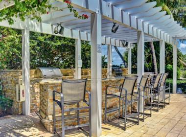 Plaza at Oceanside Outdoor Kitchen View WM 2