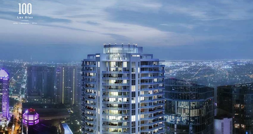 100 Las Olas Sky-High Luxury Condominiums To Open In 2020
