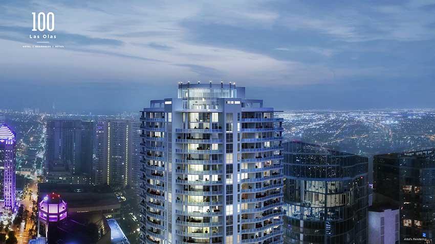 100 Las Olas Sky-High Luxury Condominiums To Open In 2020