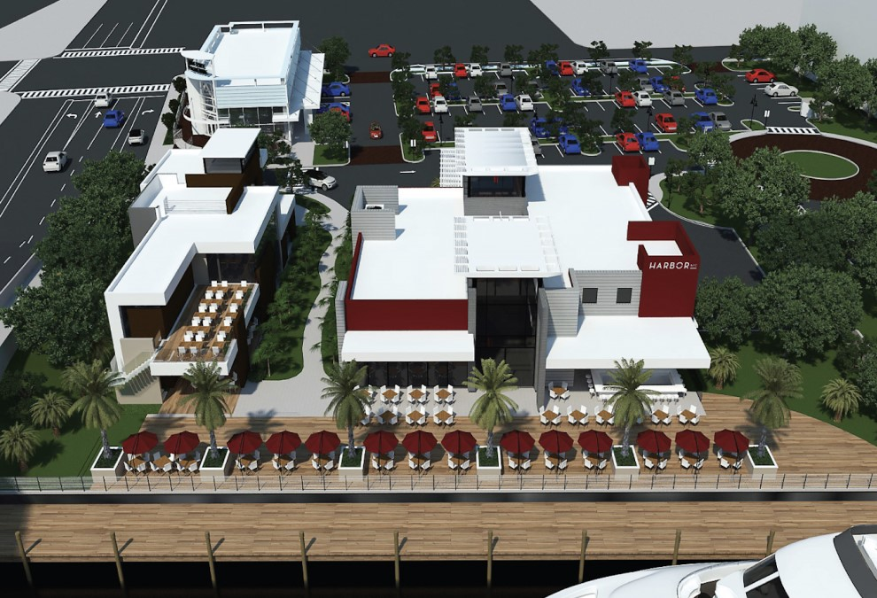 NEW POMPANO BEACH RESTAURANT/RETAIL COMPLEX RESUMES CONSTRUCTION